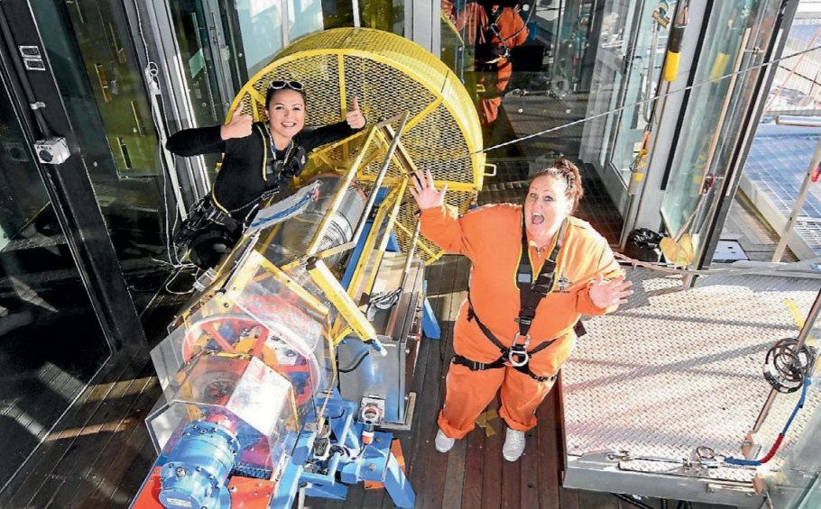Sky Tower leap to empower kids, Franklin County News, Auckland