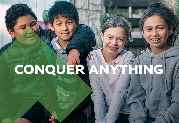Help kids conquer their mountains, Manukau Courier, Auckland