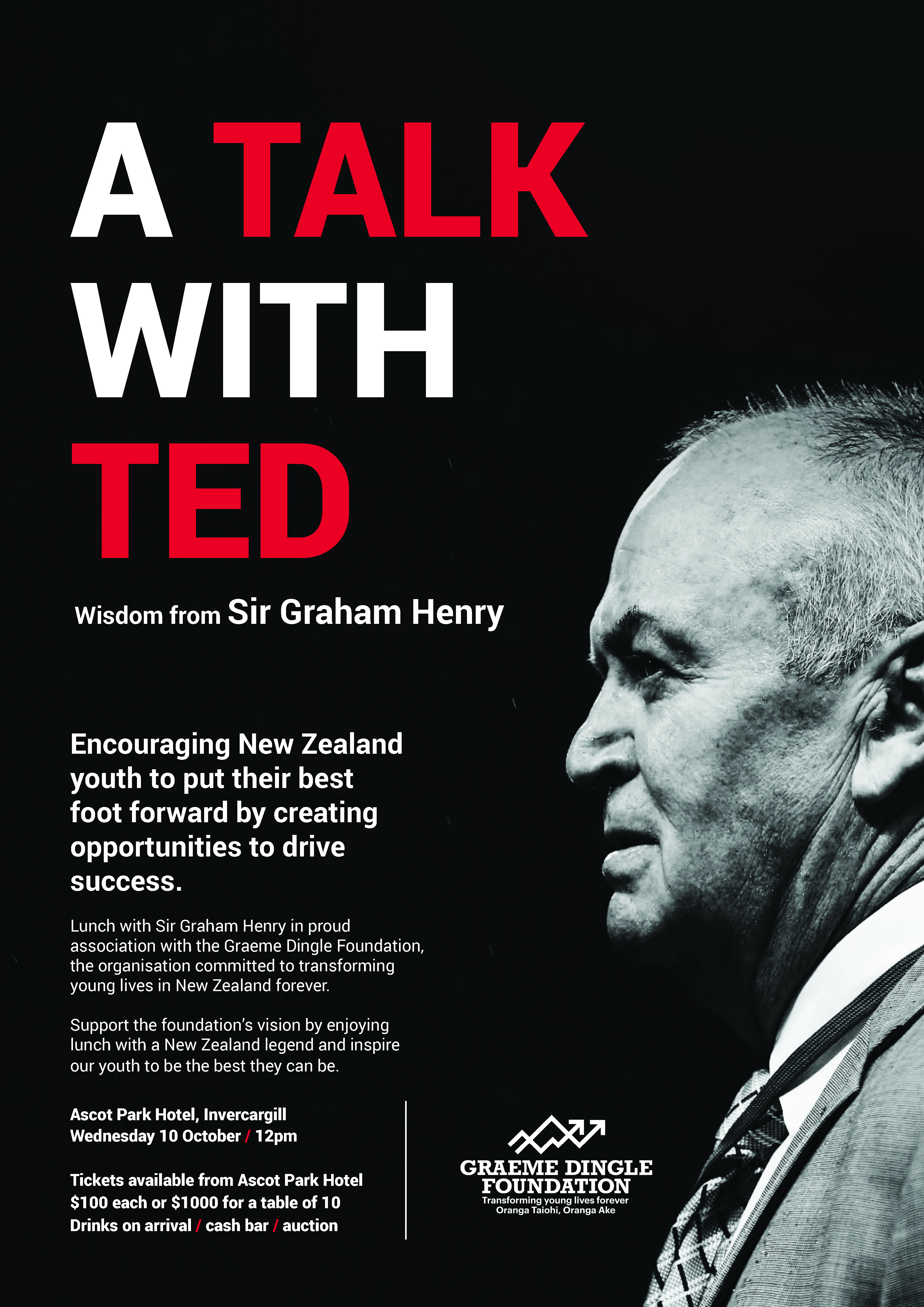 Sir Ted to talk for Southland kids