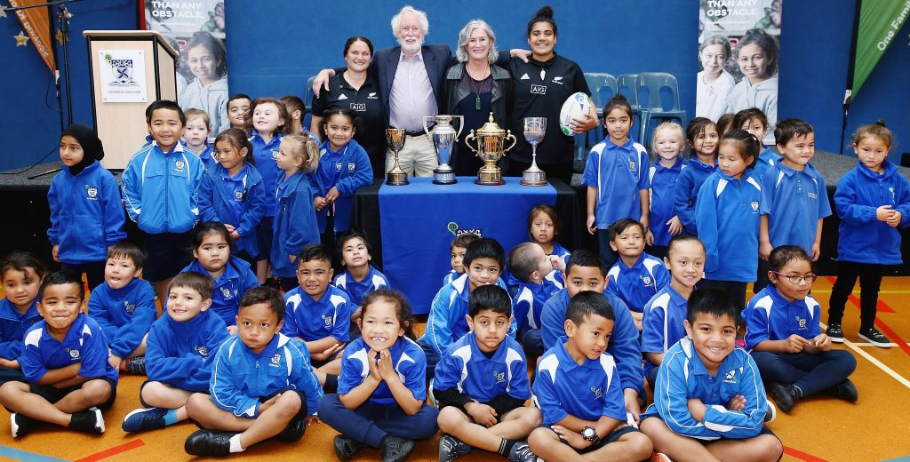 NZ Rugby joins with Graeme Dingle Foundation to improve kids' lives