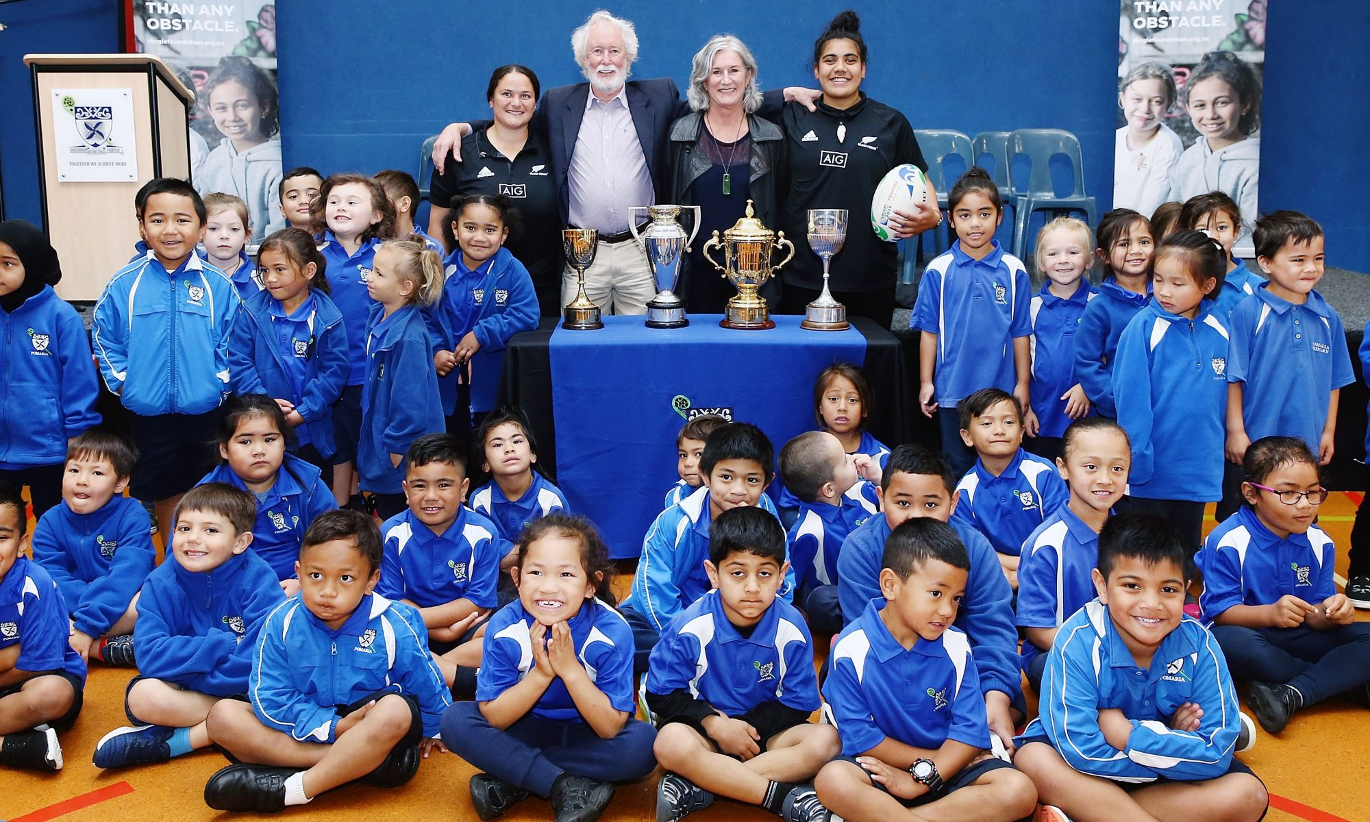 Nz Rugby Joins With Graeme Dingle Foundation To Improve Kids Lives Graeme Dingle Foundation