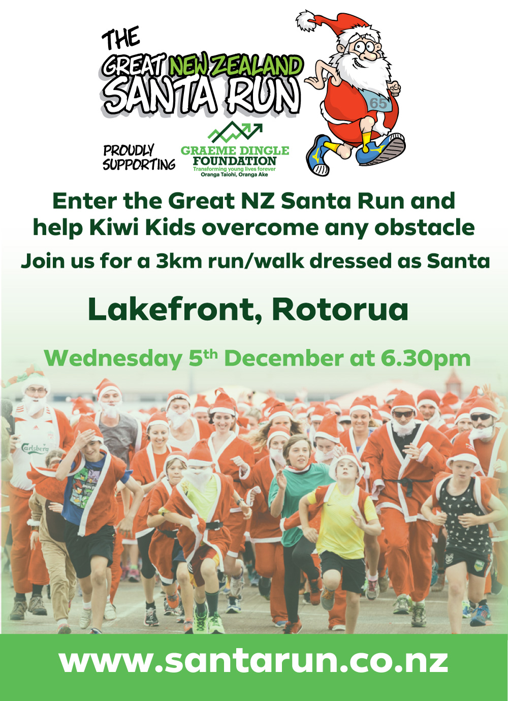 The Great NZ Santa Run