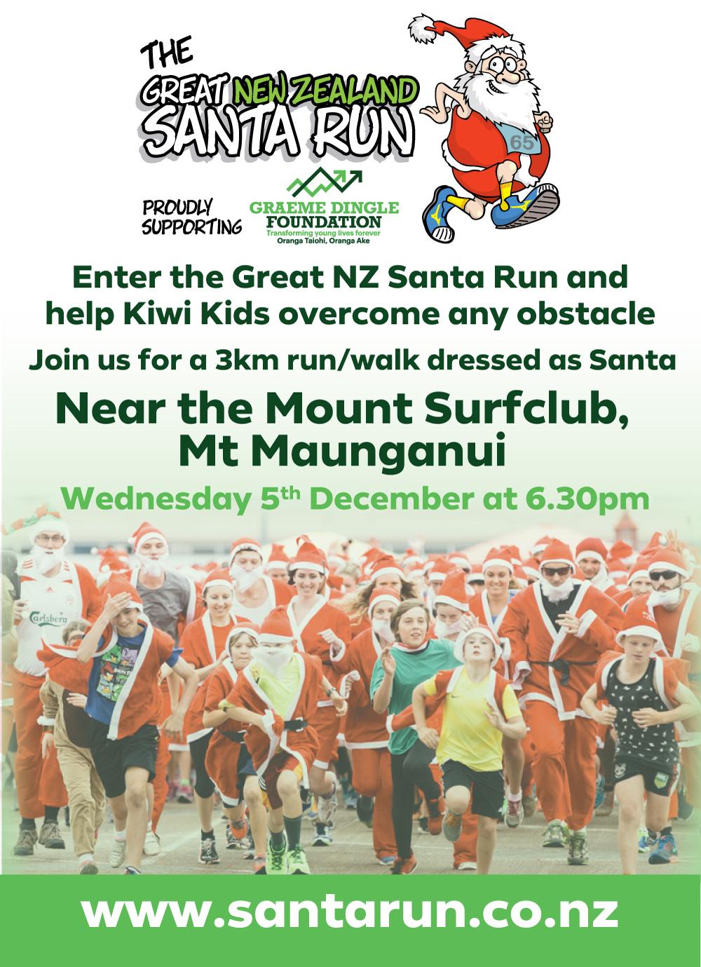 The Great NZ Santa Run