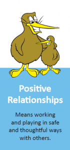 Kiwi Can theme, positive relationships
