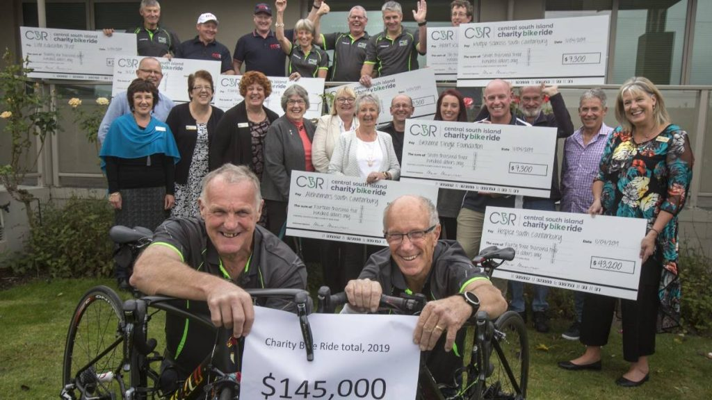 Timaru Herald: Nine charities benefit from Central South Island Charity Bike Ride