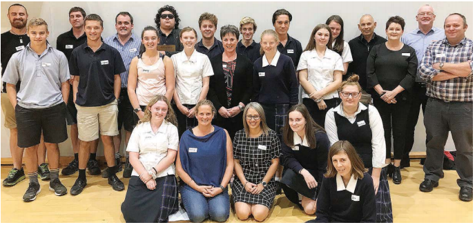 Business mentors get behind student scheme, Blenheim Sun, Blenheim
