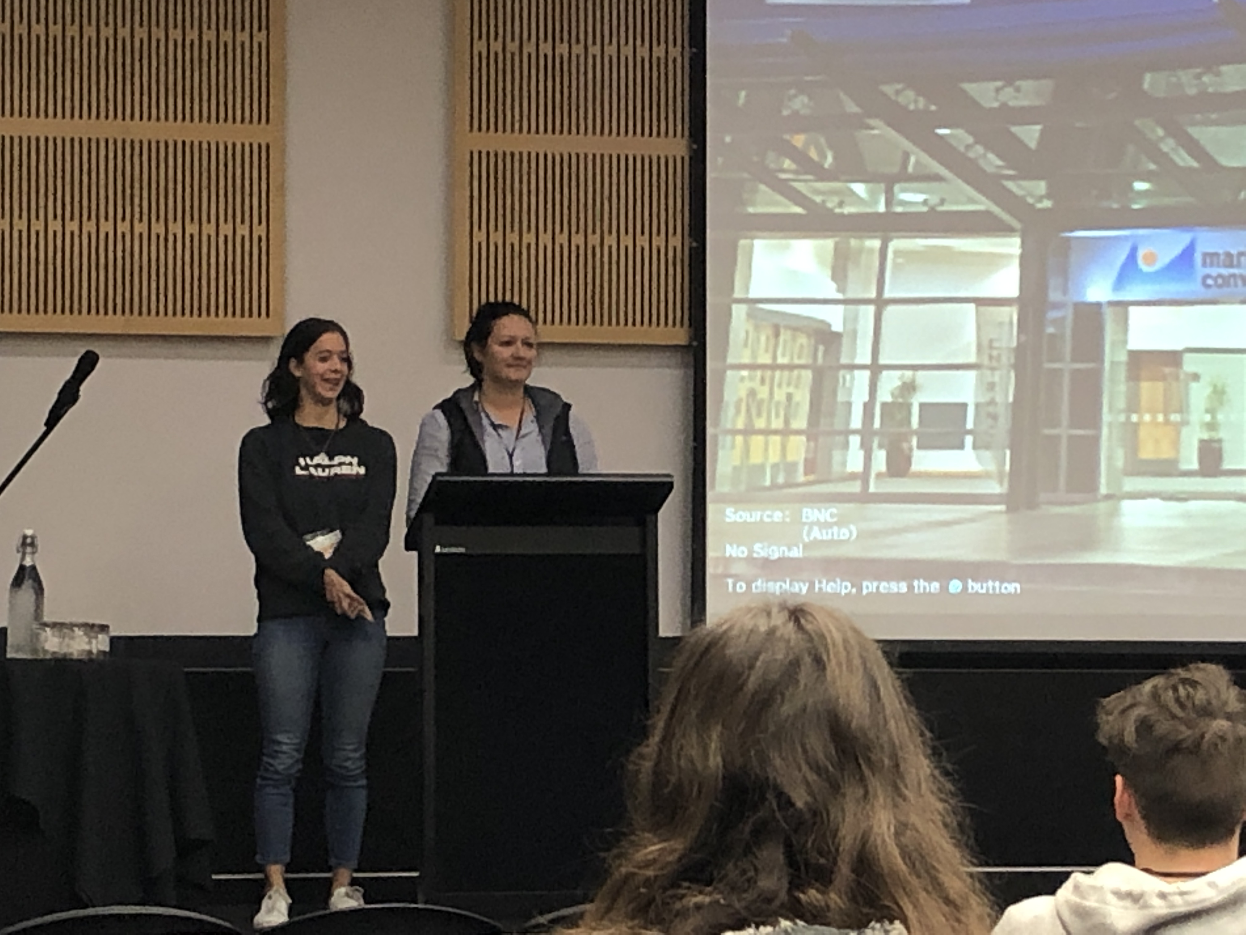 Jaimee Whitehead and Katie Bruce, Future of Work Conference 2019