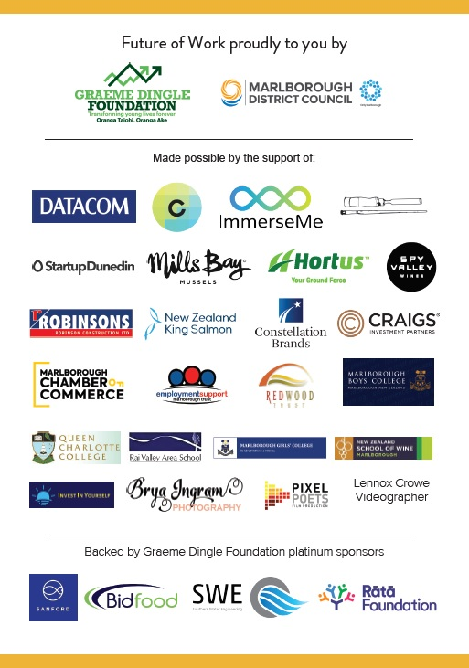 Future of Work proudly brought to you by these sponsors