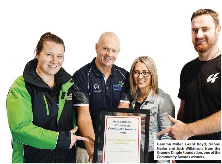 Community Awards recognise Marlborough volunteers
