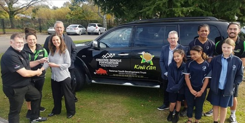 Rotorua Daily Post: Rotorua's Kiwi Can programme proud to have new car donated