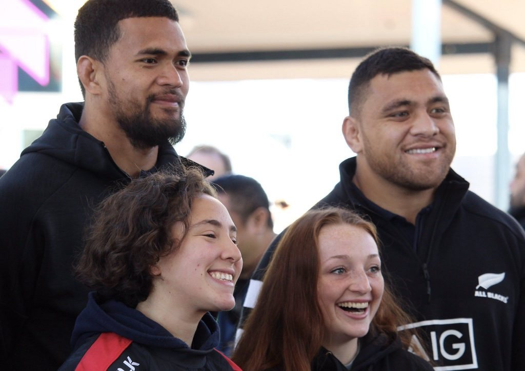 All Blacks BBQ a meat and greet opportunity for the public