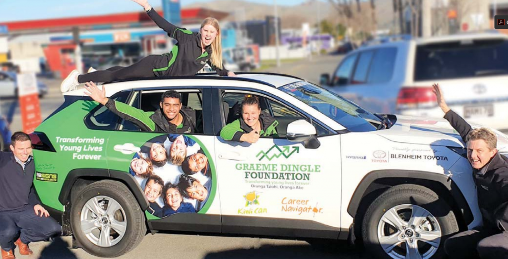 Local smiles feature on new car, Blenheim Sun, Blenheim