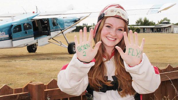 Aimee O'Hagan at Drop For Youth Marlborough