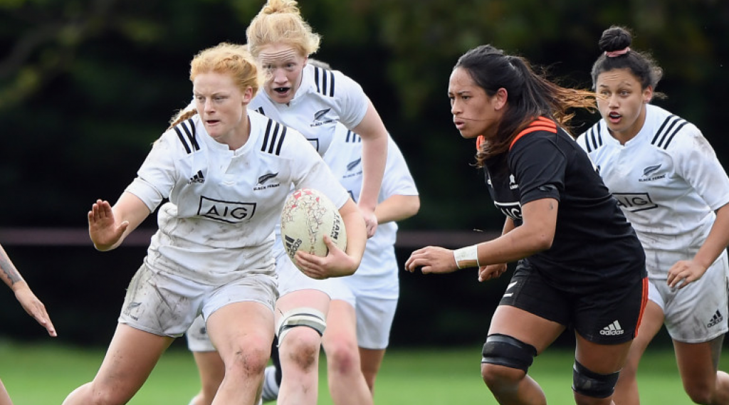 BLACK FERNS HOPEFULS PLAY FOR CHARITY IN POSSIBLES V PROBABLES