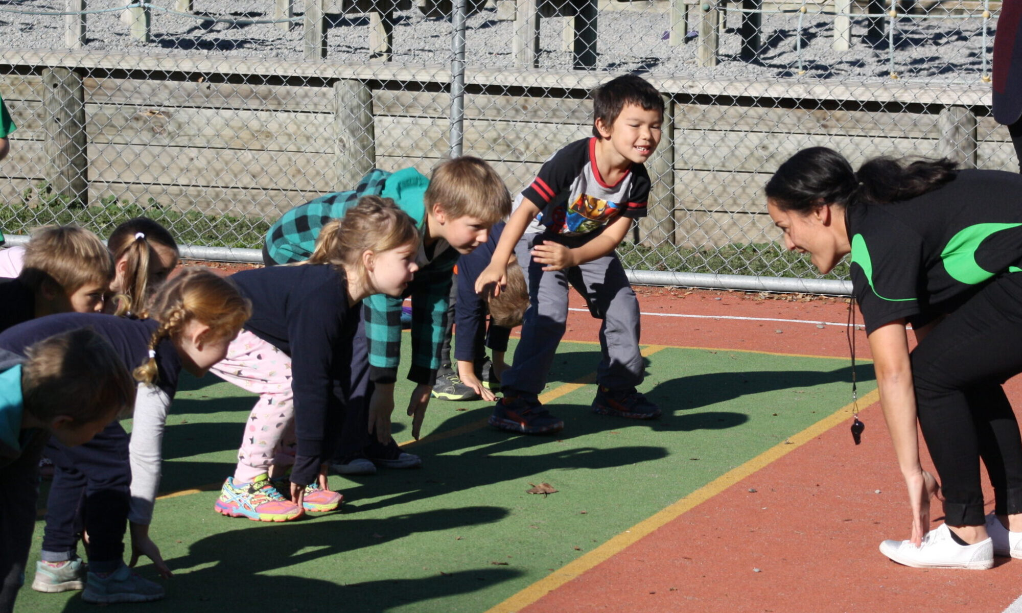 Kiwi Can Students during activity