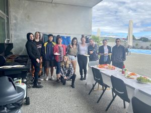 Career Navigator Community, Graeme Dingle Foundation Marlborough sharing lunch