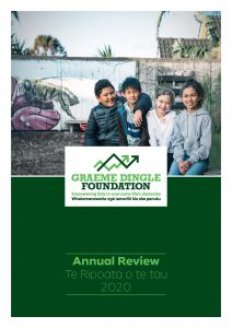 Front Cover Annual Report 2020
