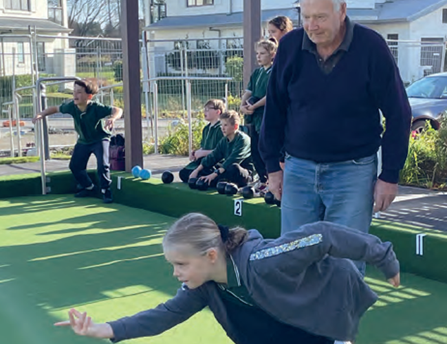 Lawn Bowls A New Experience For Pupils