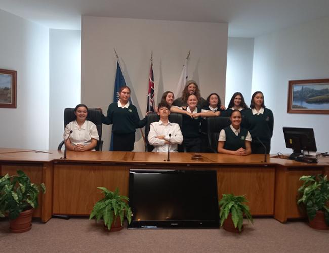 Waikato District Council Visit
