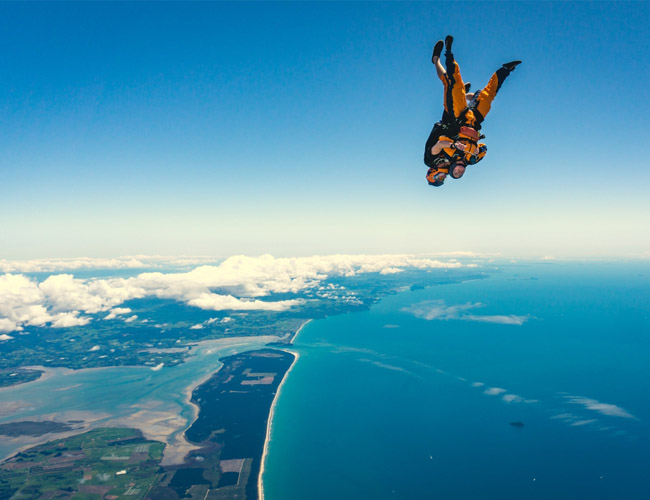 Drop Your Boss: Bay of Plenty bosses take the plunge for charity